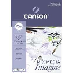 CANSON® MIXED MEDIA Imagine Feinkorn