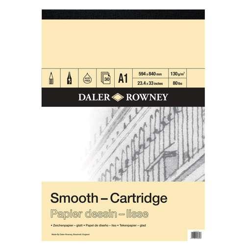 DALER-ROWNEY Zeichenblock Smooth-Cartridge
