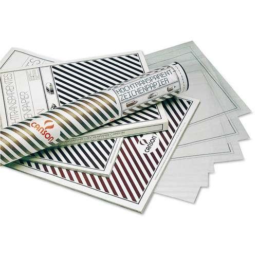 CANSON® Hochtransparentes Zeichenpapier Bogenware