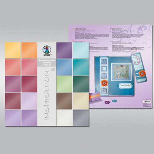 "URSUS® Struktura ""Pearl 2"", 30,5 x 30,5 cm Prägekarton"