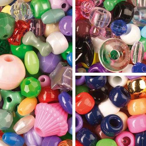 Kunststoffperlen Mix
