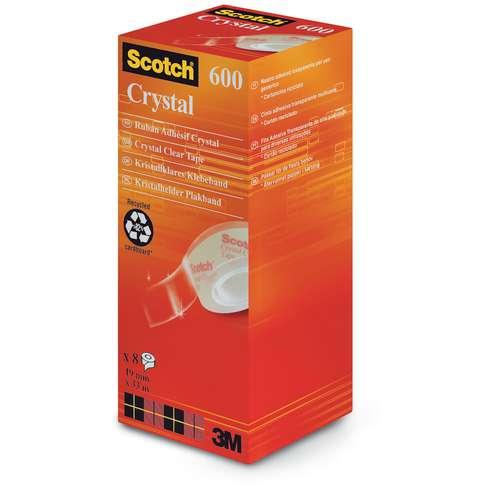 SCOTCH® Crystal Clear Klebeband 600