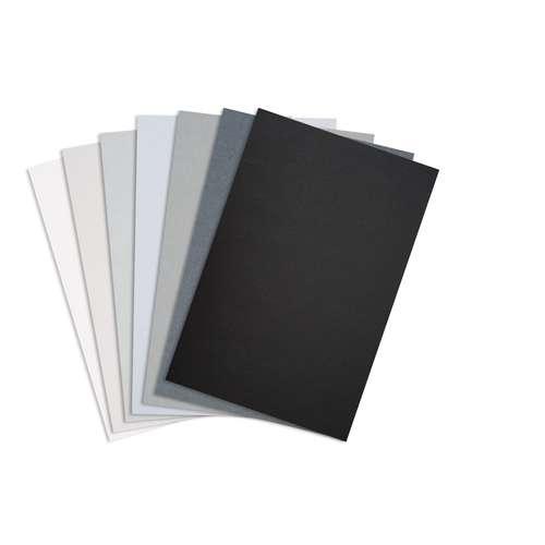 "URSUS® Tonpapier- und Fotokarton-Sortiment ""Grauton"""