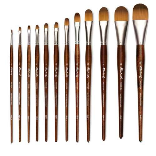 Raphaël® Precision Öl und Acryl Pinsel Serie 8940, Katzenzungenpinsel