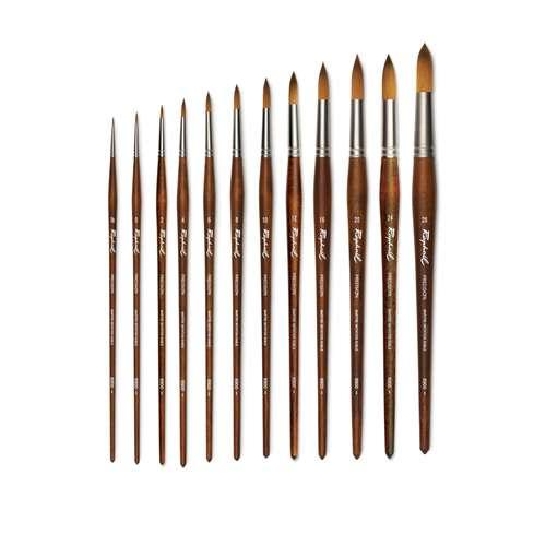 Raphaël® Precision Öl und Acryl Pinsel Serie 8900, Rundpinsel