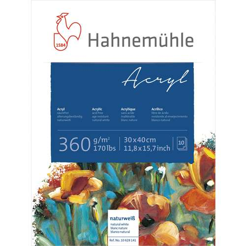 Hahnemühle Acrylmalblock 360 g/qm