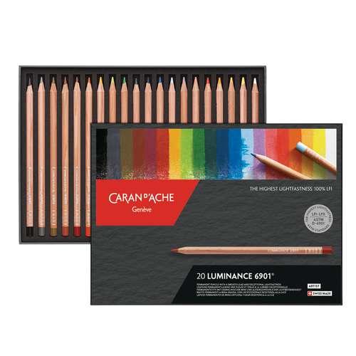CARAN D'ACHE Farbstifte-Sets Luminance 6901