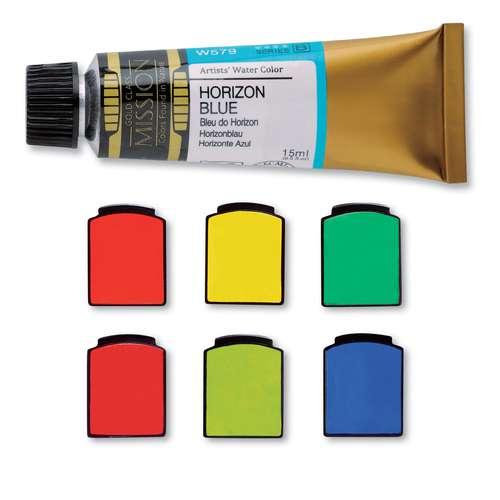 MIJELLO MISSION Gold Künstler-Aquarellfarbe
