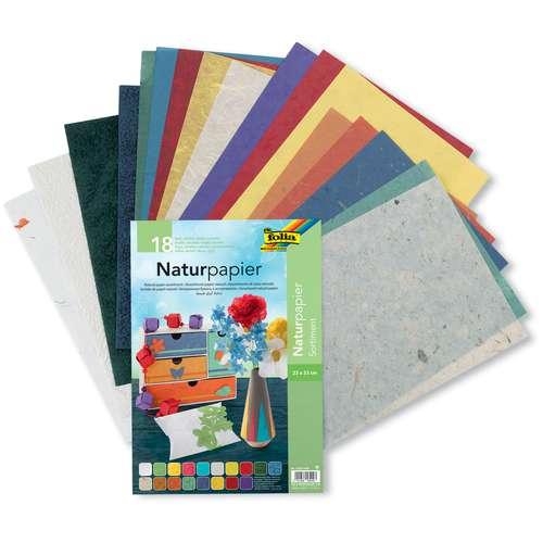 FOLIA® Naturpapier Sortiment