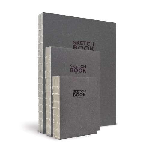 SKETCH BOOK Grey Skizzenbuch
