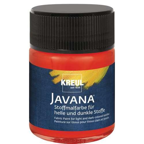 KREUL Javana Stoffmalfarbe für helle und dunkle Stoffe