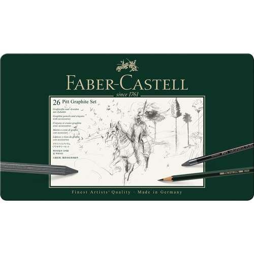 FABER-CASTELL PITT Graphite-Set groß