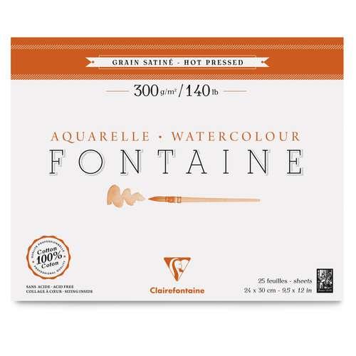 CLAIREFONTAINE Aquarellpapier FONTAINE 300 g/qm