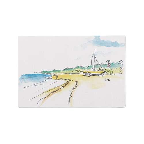 Malpappe Postkarte