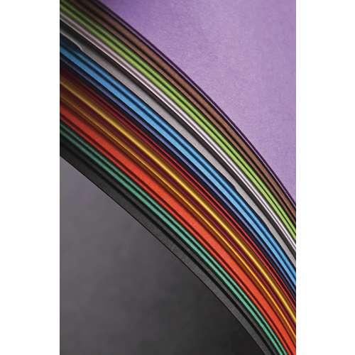 CLAIREFONTAINE MAYA farbiges Bastelpapier, 28er-Sortiment Pastell-Farbtöne