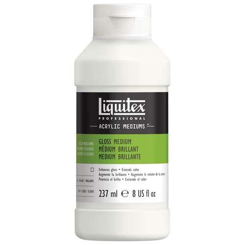 LIQUITEX® Glanz Medium und Firnis Acryl-Malmittel