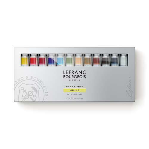 LEFRANC & BOURGEOIS extrafeine Ölfarbe Set