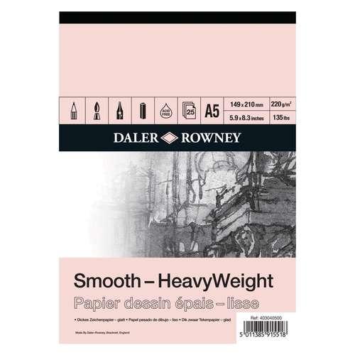 DALER-ROWNEY Smooth Heavyweight Zeichenblock