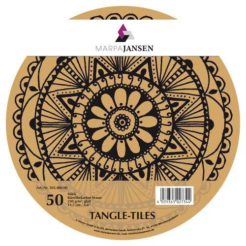 MARPA JANSEN Tangle-Tiles, rund