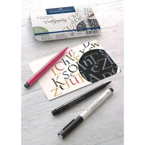 FABER-CASTELL Tuschestift Pitt Artist Pen Calligraphy-Sets