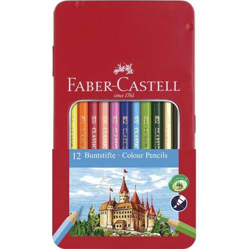 FABER-CASTELL Buntstift Sets im Metalletui