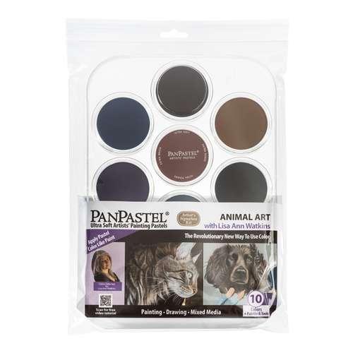 PANPASTEL® Ultra Soft Künstlerpastell-Set, Tierkunst mit Lisa Ann Watkins