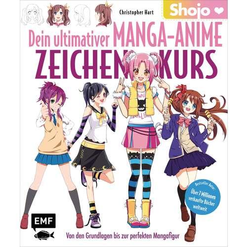 Dein ultimativer Manga-Anime Zeichenkurs - Shojo