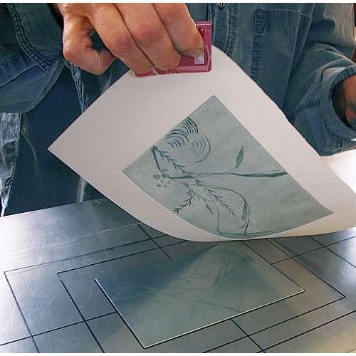ZERKALL-BÜTTEN Echt Bütten-Kupferdruckkarton