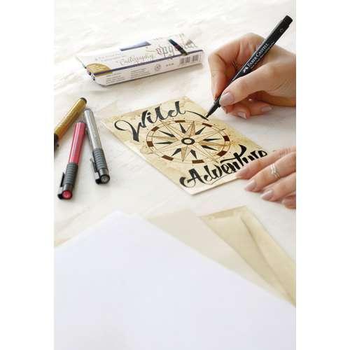 FABER-CASTELL PITT Artist Hand Lettering Tuschestift 4er Sets