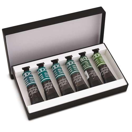 BLOCKX Ölfarben Monopigment 6er-Sets