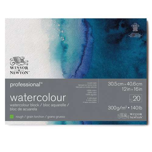WINSOR & NEWTON™ 100% Baumwolle Aquarellkarton Professional