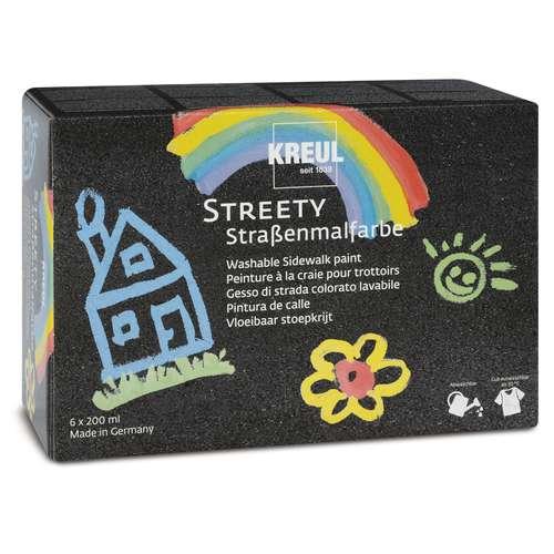 KREUL STREETY Straßenmalfarbe Komplett-Set