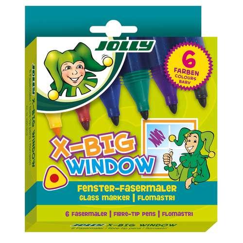 JOLLY X-Big Fasermaler, Fensterfasermaler